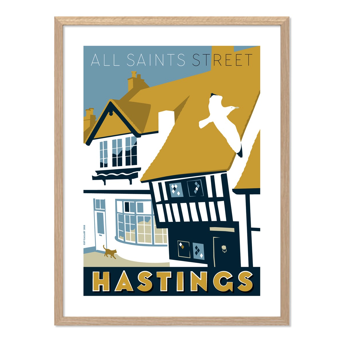 Print of All Saints Street, Hastings